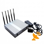 5 Band Cellphone Wifi Signal Blocker Jammer [CDMA,GSM,DCS,PCS,3G, Wifi] 40 Metres