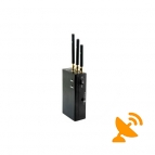 Wireless Video Audio Wifi Bluetooth Signal Jammer Blocker Jamming Blocking [1.0G 1.2G 2.4G]