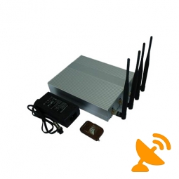 Desktop Cell Phone Signal Blocker Jammer with Remote