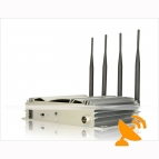 3G,GSM,CDMA,DCS,PHS,PDC,PCS,TDMA,iDEN Cell Phone Signal Jammer - 40 Meters