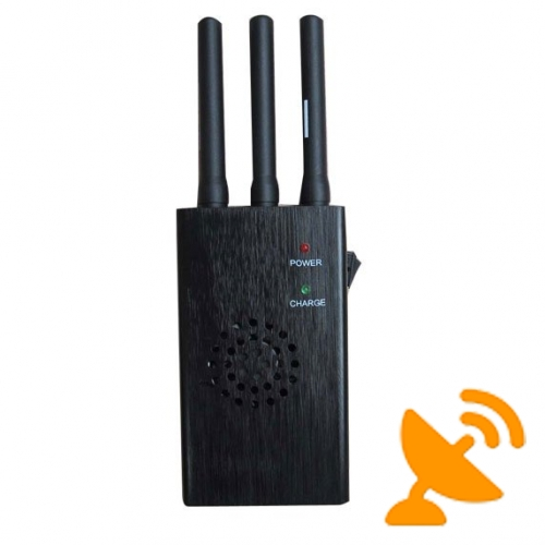 3G,GSM,CDMA,DCS,PCS Portable Cell Phone Signal Jammer - Click Image to Close