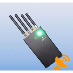 2W 4 Band Wifi + Mobile Phone Jammer