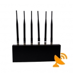 Wifi Jammer + Mobile Phone Jammer 6 Antennas