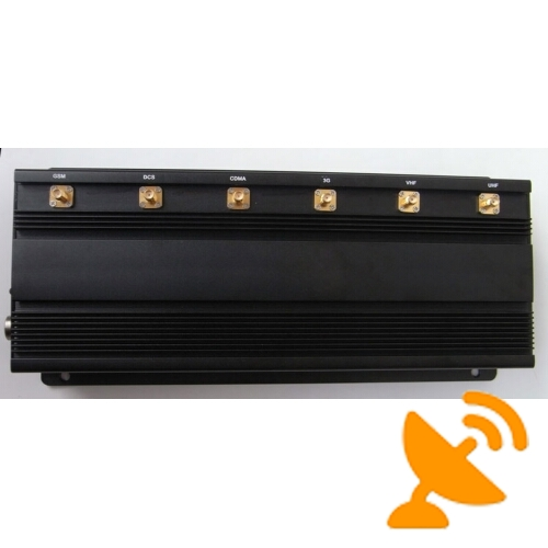15W High Power 900 MHZ GSM Cell Phone Jammer + Wifi + UHF signal - Click Image to Close