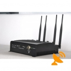 Remote Control Cell Phone Signal Blocker Wifi Jammer
