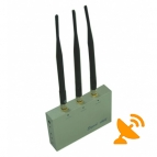 3G GSM CDMA DCS Signal Cell Phone Jammer with Remote Control