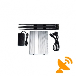 Wireless Mobile Phone Signal Jammer Blocker - 50 Meters
