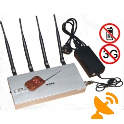Remote Control Cell Phone Signal Blocker