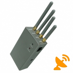 Portable Cell Phone Jammer - High Power GSM,CDMA,DCS,PCS,3G
