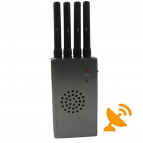 Portable High Power 3G,4G,GSM,CDMA,DCS,PCS Cell Phone Jammer