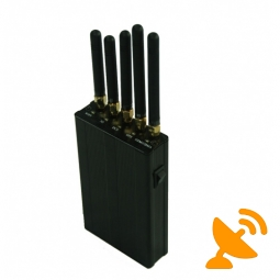 5 Antenna Portable GPS + Wifi + Mobile Phone Signal Blocker
