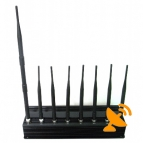 8 Antenna Mobile Phone,GPS,WIFI,Lojack,Walky-Talky Jammer