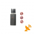 Portable GPS and Cell Phone Signal Jammer - GSM,CDMA,3G,DCS,PHS,GPS