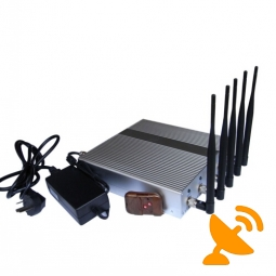 CDMA Jammer Signal Blocker with Remote Control 5 Band