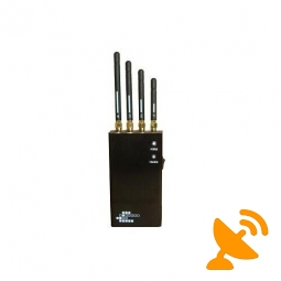 Wifi + Bluetooth Wireless Video + Cell Phone Signal Blocker Jammer 5 Band