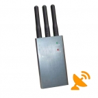 Portable GSM Cell Phone Jammer - GSM,CDMA,DCS,PHS,3G