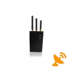 High Power GPS + Mobile Phone Signal Blocker Jammer Portable