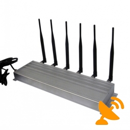 Wall Mounted 3G Cell Phone Signal Blocker + 315MHz 433MHz RF Jammer