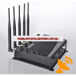 5 Band Signal Jammer Blocker for 3G GSM GPS Wifi Bluetooth