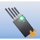 2W 4 Band Wifi + Cell Phone Signal Blocker Jammer