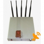 3G Cell Phone Signal Jammer High Power Remote Control