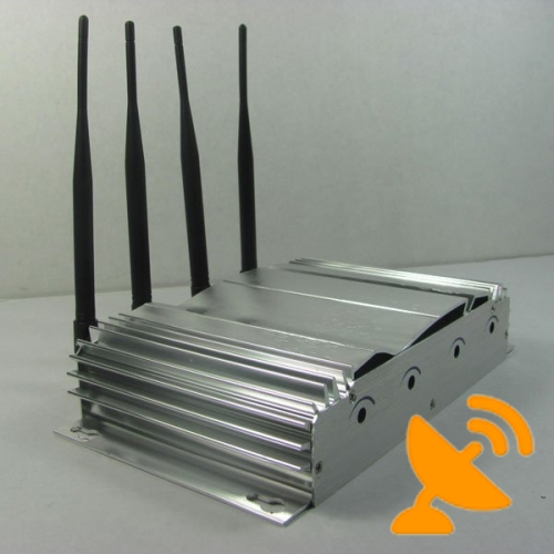 40 Metres CDMA,GSM,DCS,3G Mobile Phone Signal Blockers Jammers - Click Image to Close