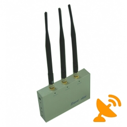 GSM CDMA 3G DCS PHS Cell Phone Signal Blocker with Remote Control