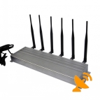 Wall Mounted 315MHz 433MHz RF 3G Mobile Phone Jammer
