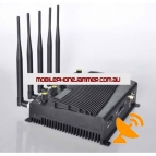 Adjustable 5 Band Cell phone Jammer 3G Wifi Bluetooth GSM