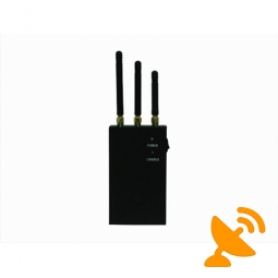 Mobile Phone Jammer - High Power Portable DCS PCS CDMA GSM 3G Jammer