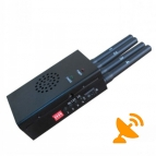 High Power Portable Wifi [10-20 Metres] + Cellular [5-15 Metres] Signal Jammer
