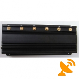 15W High Power 900 MHZ GSM Cell Phone Jammer + Wifi + UHF signal