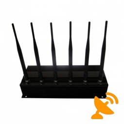15W High Power Cell Phone Signal Blocker + RF Jammer 315MHZ 433MHZ