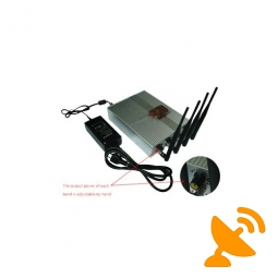 60 Metres High Power Mobile Phone Jammer with Remote with Remote