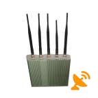 Remote Control Cell Phone Signal Blocker + CDMA Jammer