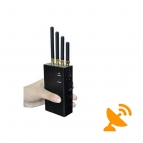 4G Lte Jammer 3G Cell Phone Signal Blocker 2W 4 Band Portable
