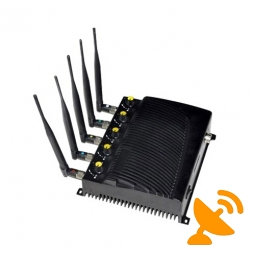 Wall Mounted Adjustable Wifi + GPS + Cell Phone Signal Blocker - EU Version
