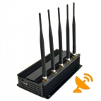Wall Mounted High Power GPS + Cell Phone Jammer