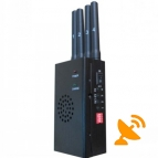 High Power Portable GPS and Cell Phone Jammer [GPS,GSM,CDMA,DCS,PCS] 10 Metres