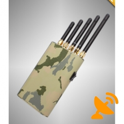 Handheld Cell Phone Signal Blocker GPS Jammer Wifi Jammer