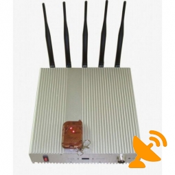 1900 MHz - 1990 MHz Cell Phone Jammer with Remote Control