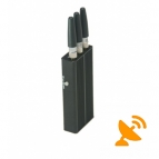 Mini Portable GPS + Cell Phone Jammer [GPS,GSM,CDMA,DCS]
