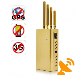 Portable GPSL1(1500-1600Mhz) + Cell Phone Signal Jammer 15 Metres