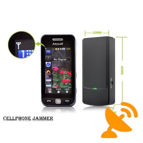 GSM CDMA DCS 3G Cell Phone Signal Blocker Style Mini Portable - Click Image to Close