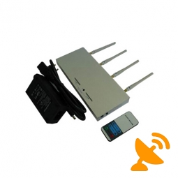 GSM Signal Blocker with Remote Control