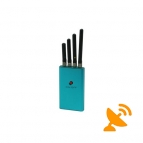Medium Power Portable Cell Phone Signal Blocker GSM 3G CDMA DCS