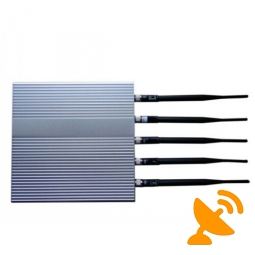 3G GSM CDMA DCS PHS 5 Antenna Cell Phone Signal Blocker