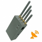 High Power Portable Cell Phone Signal Blocker Jammer