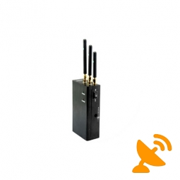 Wirless Audio + Video + Wifi + Bluetooth Jammer Blocker