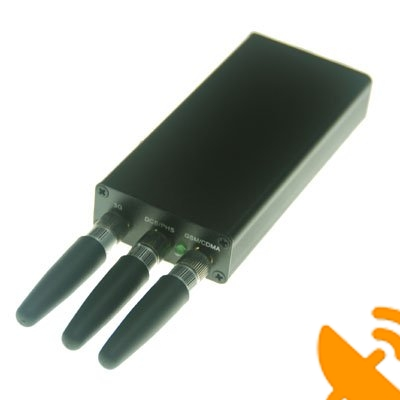 Mini Portable GPS + Cell Phone Jammer [GPS,GSM,CDMA,DCS] - Click Image to Close